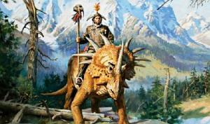 ეჭვის საფუძველი აღარ არსებობს, ადამიანები და დინოზავრები ერთად ცხოვრობდნენ!