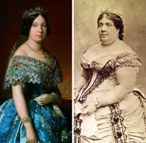 XIX საუკუნის სამეფო კარის წევრები ნახატებზე და ფოტოსურათებზე- ხედავთ განსხვავებას?