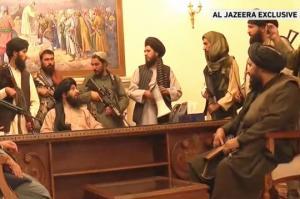 როგორც ჯერ კიდევ 1 თვის წინ ვწერდი, თალიბებმა აიღეს ავღანეთის დედაქალაქი, ავღანეთის რესპუბლიკის პრეზიდენტი  აშრაფ განი გაიქცა