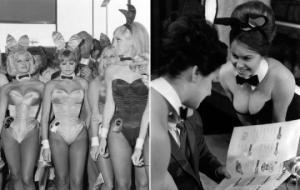"""""""ფლეიბოის"""" """"ბაჭია"""" - გოგონების  55 წლის წინ გადაღებული უნიკალური ფოტოები, რომლებიც არსად გინახავთ"""