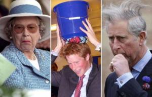 სამეფო ოჯახის წევრების ძალიან სასაცილო ფოტოები, რომლებიც ინტერნეტში არ უნდა გავრცელებულიყო