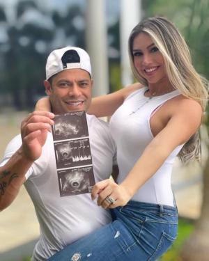 ბრაზილიელი ჰალკი მეოთხე შვილს მეორე ყოფილი ცოლის ბიძაშვილისგან ელოდება