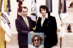 რიჩარდ ნიქსონმა ელვის პრესლის ჯონ ლენონის თვალთვალი დაავალა - ბობ ჰარისი