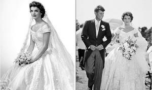 ცნობილი ადამიანების საკულტო საქორწინო კაბები – Top 20