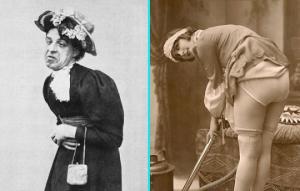 უცნაური ფოტოები წარსულიდან, რომლებიც ყოველგვარ ლოგიკას ეწინააღმდეგებიან