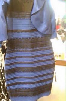 თეთრი და ოქროსფერი თუ ლურჯი და შავი?