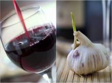 ღვინისა და ნივრის ჯადოსნური ელექსირი