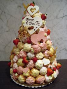 კროკემბუში - ულამაზესი ფრანგული საქორწილო ნამცხვარი (რეცეპტი)