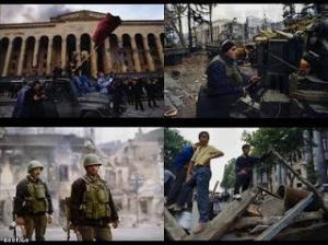 ომი რუსთაველის პროსპექტზე