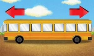 დააკვირდით ავტობუსს! თავსატეხი, რომელსაც ბავშვები ხსნიან, მოზრდილები კი ვერა