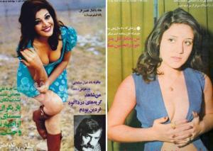 ირანელი ქალების რევოლუციამდელი სახე,რომელიც ძველმა ჟურნალებმა შემოინახეს