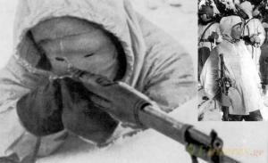 სნაიპერი, რომელიც შიშის ზარს სცემდა საბჭოთა ჯარისკაცებს