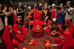 """თურქული წინა საქორწილო ტრადიცია- """"ხნის ღამე"""""""