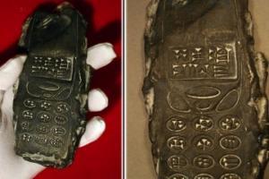 """თიხისგან დამზადებული უძველესი მობილურის ტელეფონის საიდუმლო """"ამოხსნილია"""""""