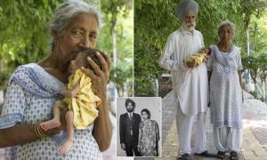72 წლის დედას ახალშობილი შვილი თავსატეხად ექცა