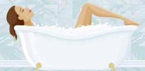 მარტივი აბაზანა წონაში დასაკლებათ. (ცდათ ნამდვილად ღირს!)