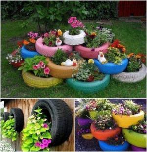 ლამაზი ბაღი (+ ფოტოები)