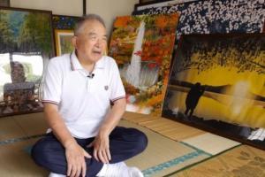 იაპონელი პენსიონერი Excel –ში  შესანიშნავ სურათებს ქმნის