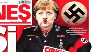 თურქულმა გაზეთმა მერკელი ნაცისტურ ფორმაში გვიჩვენა
