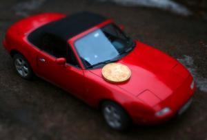 თქვენი აზრით, მონეტა არის დიდი, თუ მანქანა პატარა?