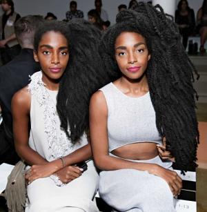 ტყუპი დები, რომლებიც ცნობილები საკუთარი თმის წყალობით გახდნენ (+ფოტოები)