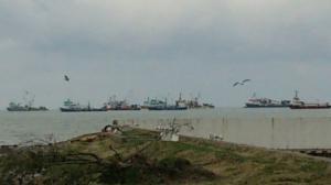 ჩემთვის გაუგებარია რა უნდა  თურქულ სეინერებს ანაკლიის აკვატორიაში, სადაც უმოწყალოდ ნადგურდება ზღვის ფლორა