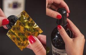 პრეზერვატივები ღვინის დასაცავად