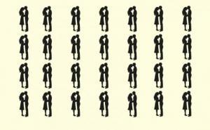 ტესტი: რამდენად სწრაფად მოახერხებთ განსხვავებული წყვილის პოვნას?