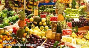 საკვები პროდუქტები, რომელიც აპრილში აუცილებლად უნდა მივირთვათ!