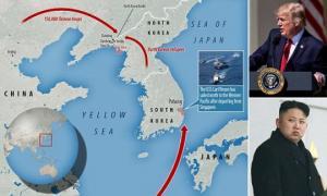 """ტრამპი იმუქრება, ჩინეთმა ჯარები კორეის საზღვართან განალაგა, რუსეთი """"შეშფოთებულია"""""""