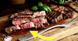 წითელი სითხე უმ ხორცზე - ეს სისხლი არ არის! რა არის ეს?