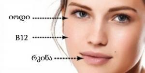 ვიტამინების ნაკლებობის 5 ნიშანი,რომელიც პირდაპირ სახეზე გვაწერია