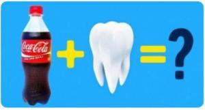 წარმოდგენაც არ გაქვთ რას უშვრება Coca-Cola თქვენს კბილებს. ეს უნდა იცოდეთ!