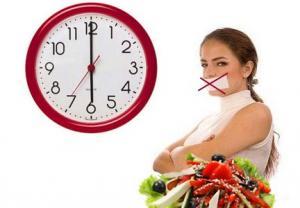 საკვების მიღება 18:00 საათის შემდეგ შეიძლება და აუცილებელიც არის!!!