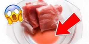 წითელი სითხე სინამდვილეში სულაც არაა სისხლი და კიდევ 3 ფაქტი,რაც ხორცზე უნდა იცოდეთ