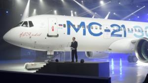 """რუსეთში განხორციელდა """"ბოინგის"""" კონკურენტის,რუსული МС-21-ის საცდელი ფრენა(ვიდეო)"""