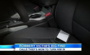 მძარცველს ქალის მანქანაში  თავისი ტელეფონი დარჩა.  ქალმა ქურდის დედას დაურეკა!