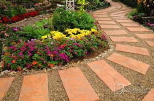 ბაღებისა და ეზოების მოწყობა ულამაზესი ბილიკებით – 50 საოცარი იდეა (ნაწილი III)