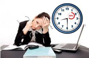 შრომის ნაყოფიერება ( +  – 60%)  სამუშაოს დაწყების დროზე არის დამოკიდებული