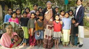 ინდოელი ქალი,რომელმაც 800 ბავშვი იშვილა