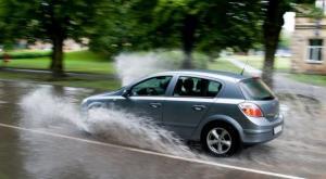 როგორ ვმართოთ ავტომობილი წვიმაში