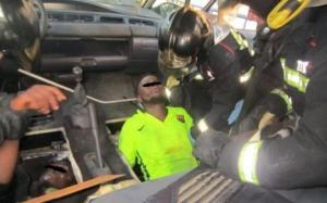 ესპანელმა მესაზღვრეებმა მანქანის იატაკში მოწყობილი სამალავიდან ოთხი არალეგალი ამოიყვანეს