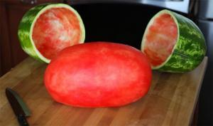 იდეალურად გათლილი ხილი