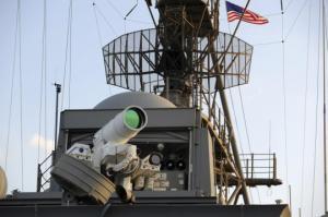 ამერიკის შეერთებულმა შტატებმა სპარსეთის ყურეში ლაზერული იარაღი გამოსცადა
