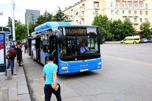 კიდე 143 ახალი ავტობუსი იწყებს ქალაქში მგზავრების მომსსახურებას