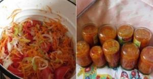 """""""ბოსტნეულის სალათი"""" ზამთრისთვის-მარტივად და სწრაფად მოსამზადებელი"""