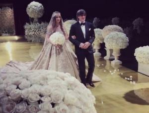 რუსი ბიზნესმენის ქალიშვილის და ოლიგარქის ვაჟის ძვირადღირებულმა ქორწილმა ჰოლივუდი მასშტაბურობითაც შოკში ჩააგდო