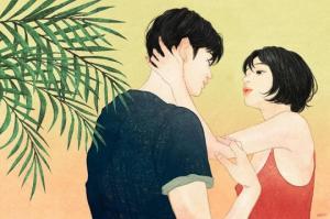 კორეელი მხატვრის ილუსტრაციები მგზნებარე სიყვარულზე