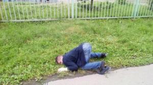 """ალკოჰოლთან """"ბრძოლაში გმირულად დაცემულები"""". ფოტო კოლაჟი რუსეთიდან"""