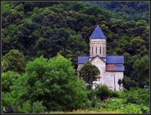 ულამაზესი  ეკლესია რაჭაში ბარაკონი ღვთიშობლის  სახელობის ტაძარი